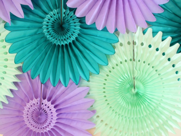 Paper Fan Party Decoration Great Decor For Weddings Bridal